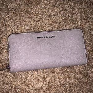 Gray Michael Kors wallet